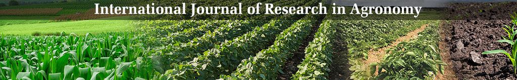 International Journal of Research in Agronomy